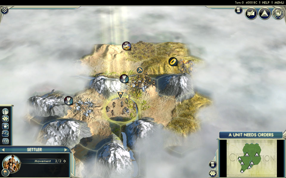 how to get gold civ 5