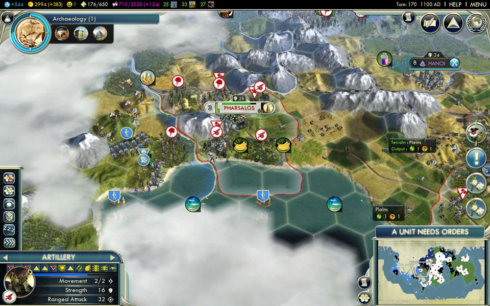 civ 5 how to get iron